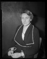 Dr. V. Blanche Slagerman, 1934