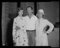 Phillips and Phyllis Smalley and Lillian Albertson, 1925