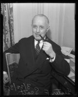 Lester F. Scott, 1930 or 1935