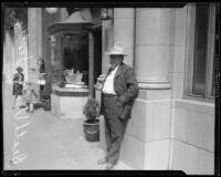 """Walter E. Scott, or """"Death Valley Scotty,"""" circa 1925-1935"""