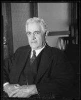 Charles B. Seger, president, United States Rubber Company, 1929