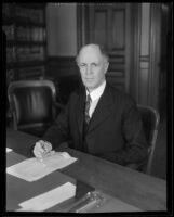 Judge Hartley Shaw, 1934