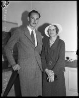 Lucien West Shaw and Dorothy H.P. Lum, 1932 or 1933