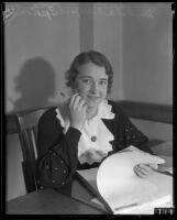 Evangelist Rheba Crawford Splivalo, 1931
