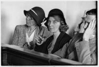 Ruth Smith, mother of kidnaped baby, San Bernardino or San Francisco, 1930