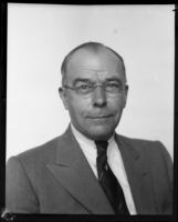 Max E. Socha, newspaper editor and president of the German-American League, 1930