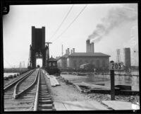 Southern California Edison electric plant, Long Beach, [1930?]