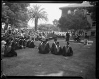 University of Southern California Ivy Day gathering, Los Angeles, 1926