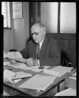 Los Angeles Superintendent of Parks Frank Shearer, 1932