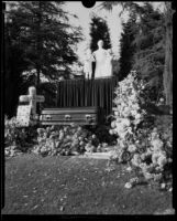 Grave of Moses H. Sherman, Forest Lawn Cemetery, Glendale, 1932