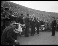 Armistice Day observance, Los Angeles Memorial Coliseum, Los Angeles, 1931