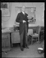 Senator Samuel M. Shortridge, 1935