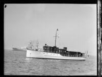 Yacht Pasada Manana, [1938?]