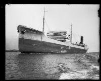 M.S. Northern Sun at sea, [1930s?]
