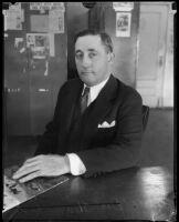 "Marvin E. ""Doc"" Schouweiler, 1934"