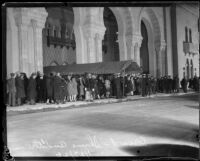 Opening night at the newly completed Shrine Auditorium on January 23, Los Angeles, 1926