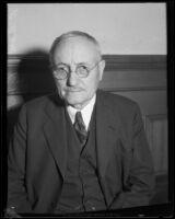 General William L. Sibert, [1930 or 1932?]