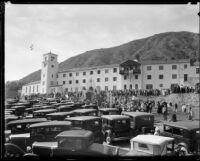 Dedication ceremony, Mater Dolorosa Passionist Retreat Center, Sierra Madre, 1932