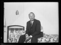 Federal Petroleum Administrative Board member E.B. Swanson, 1934