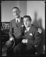 Actors Julius Tannen and William Tannen, [1934-1937?]