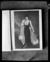 Painting of Mrs. E.F. Hutton by Pierre Tartoue, photographed from book, [1933?]