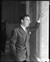 Actor Edward Steuart Tavant, 1935