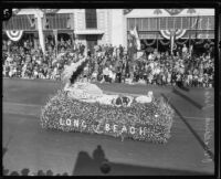 """Gondola"" first prize float in the tournament of Roses Parade, Pasadena, 1926"