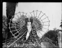 """Sea Queen"" float in the Tournament of Roses Parade, Pasadena, 1934"