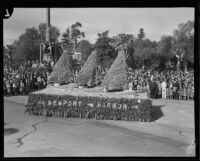 Newport Harbor float in the Tournament of Roses Parade, Pasadena, 1932