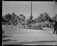 Arden float in the Tournament of Roses Parade, Pasadena, 1933