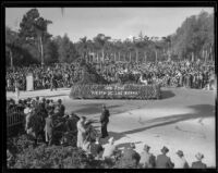 """Fiesta de las Rosas"" in the Tournament of Roses Parade, Pasadena, 1935"