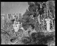 """Venus"" float in the Tournament of Roses Parade, Pasadena, 1935"
