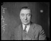 Los Angeles police detective Joe Taylor, 1931