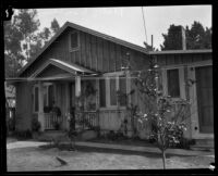Platts family residence, where Alsa Thompson stayed, Los Angeles, 1925
