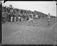 Race with runners from the University of California and the Los Angeles Athletic Club at UCLA, Los Angeles, 1932