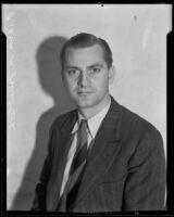Astronomer Frank S. Trueblood, Los Angeles, 1933