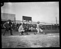 USS Tennessee battleship sailors play baseball, 1925