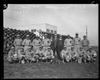USS Tennessee battleship baseball team, 1925