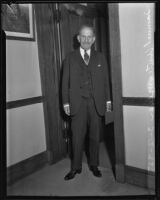 Nationally renown New York attorney Samuel Untermyer, Los Angeles, 1935.
