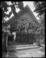 Arbor-fronted chapel at Rancho Camulos Ranch, near Piru