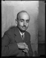 Superior Court Judge Joseph W. Vickers, 1934-1939