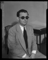 Edward Ward accused of attempting to frame the police commissioner, Los Angeles, 1932