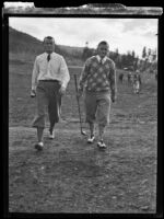Al Watrous, American professional golfer, circa 1930-1939