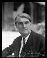 California State Bar President Joseph J. Webb, 1928