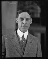 Portrait of Dr. Ray Lyman Wilbur, president of Stanford University from 1916 to 1943