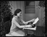 Betty Wang, Journalist, Los Angeles, 1934