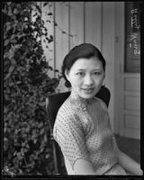 Betty Wang, Journalist, Los Angeles, 1934
