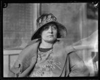 Margaret Willis confesses to murdering Dr. Benjamin Baldwin, Los Angeles, 1924