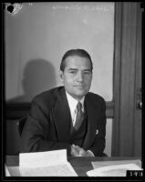 Pierce Williams is to face trial for conspiracy related to the Civil Works Administration, Los Angeles, 1934