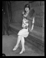Laverne Wilmington seeks a divorce, Los Angeles, 1927